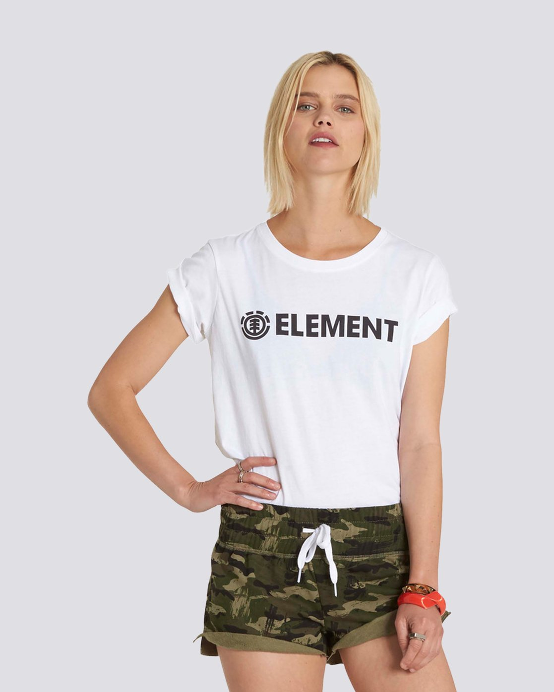 0 Element Boyfriend Logo Tee  J447NEEL Element