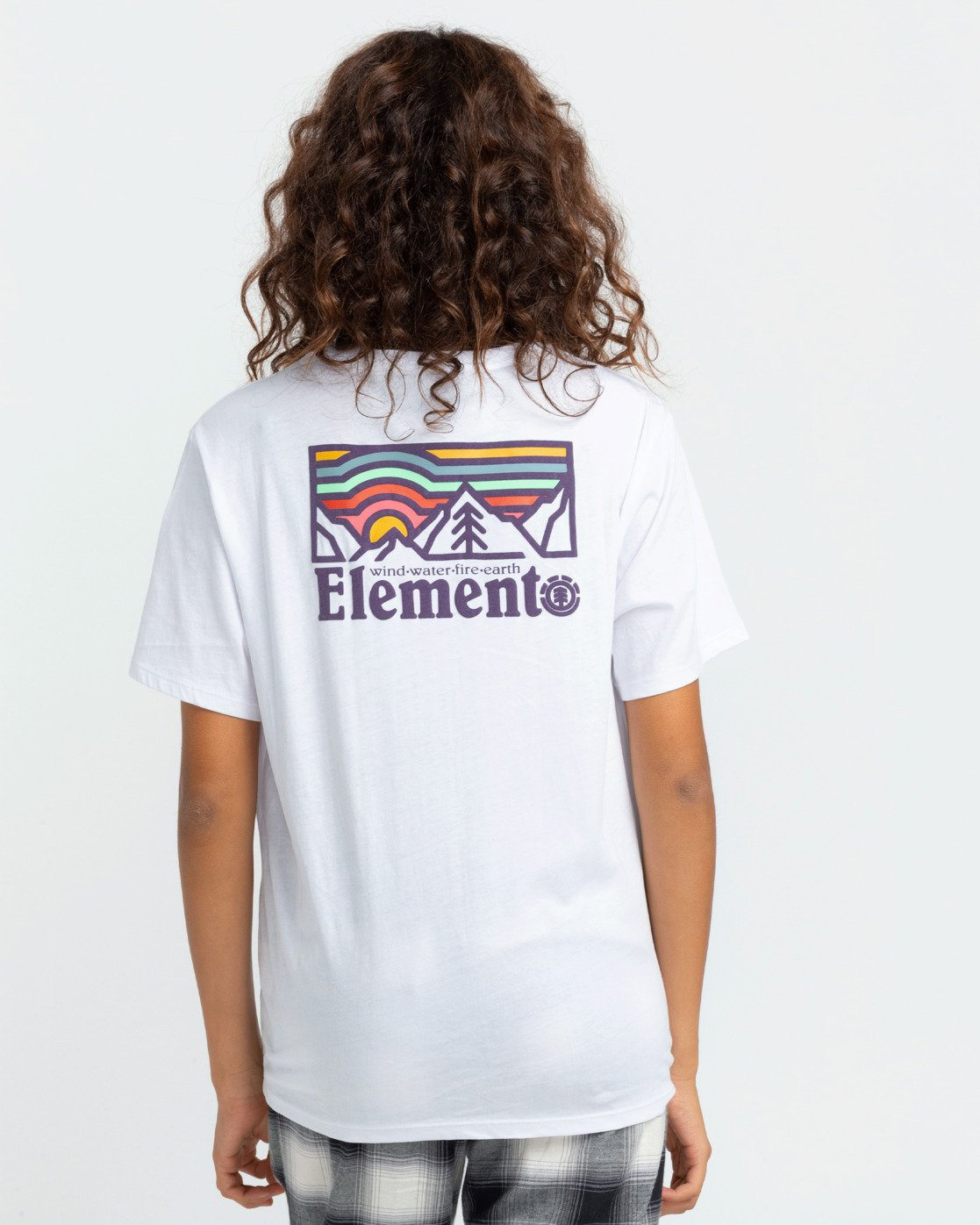 2 Landscape T-Shirt White J4523ELA Element