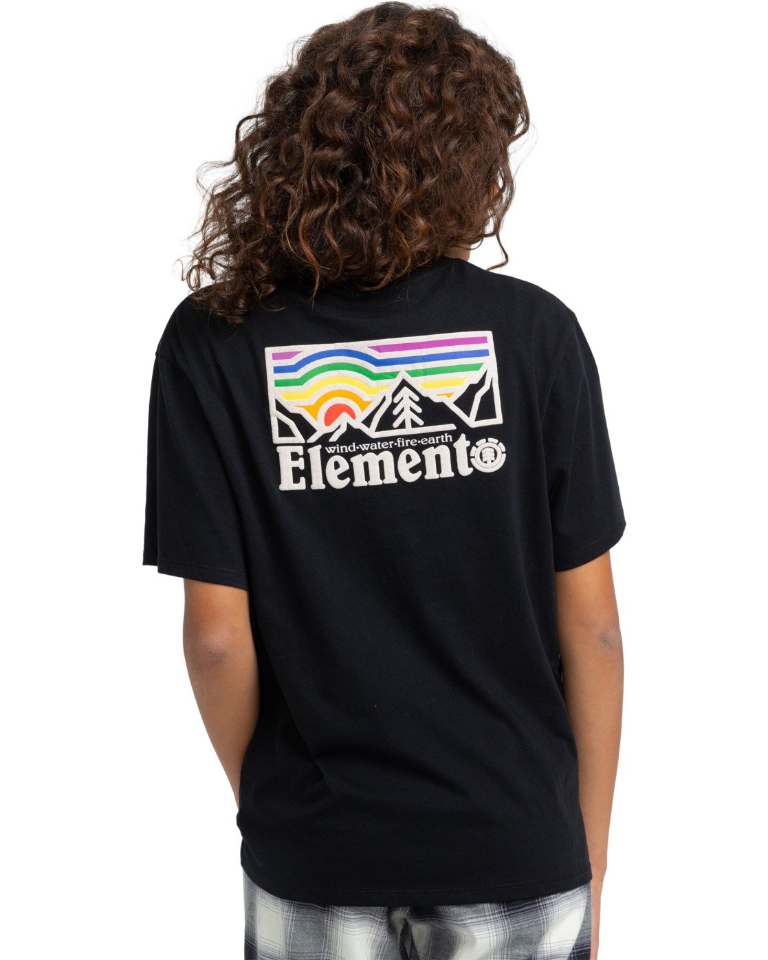 2 Landscape T-Shirt Black J4523ELA Element