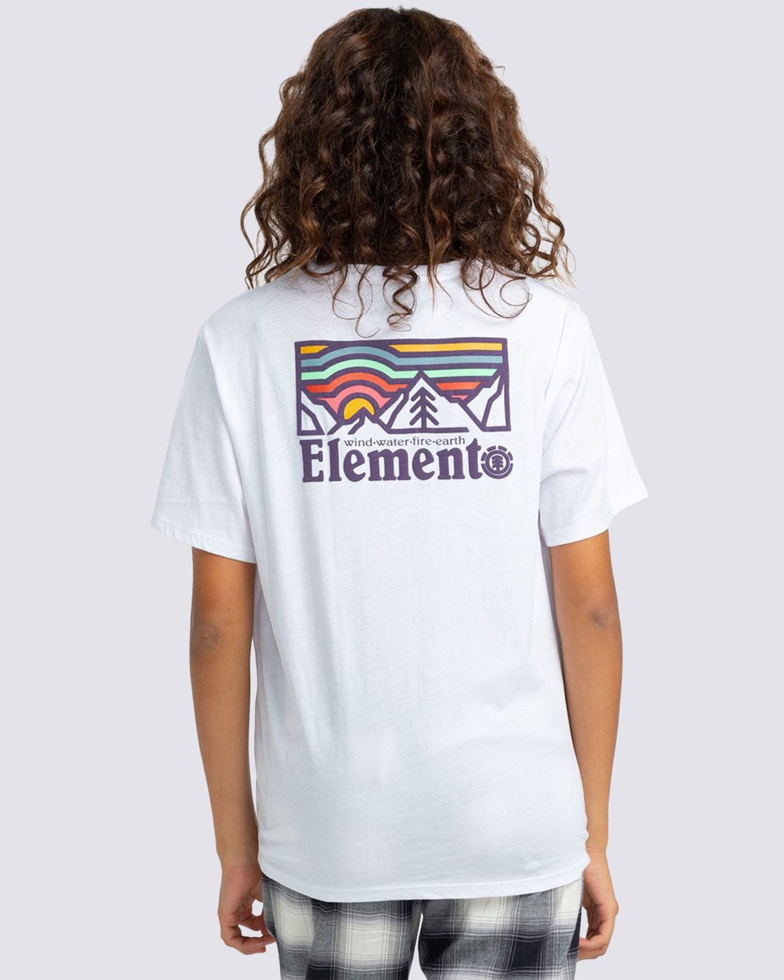 1 Landscape T-Shirt White J4523ELA Element