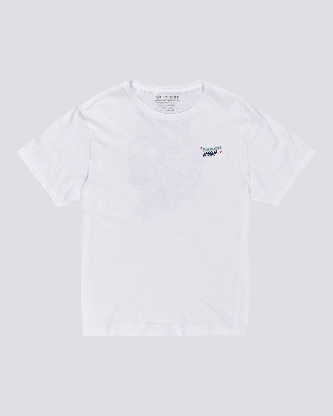 1 Sage T-Shirt White J4523ESA Element