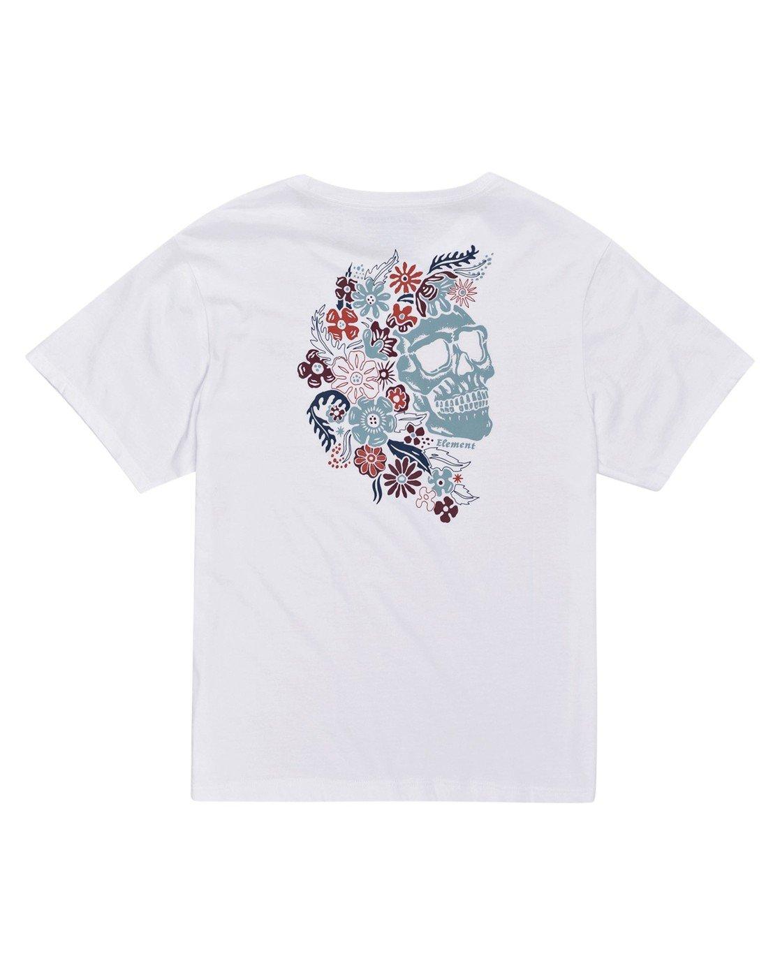 0 Sage T-Shirt White J4523ESA Element