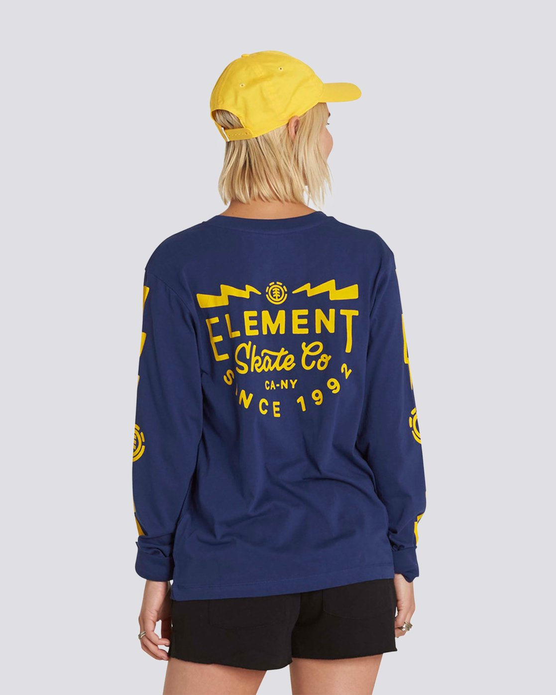 1 Zap Long Sleeve Crew  J463NEZA Element