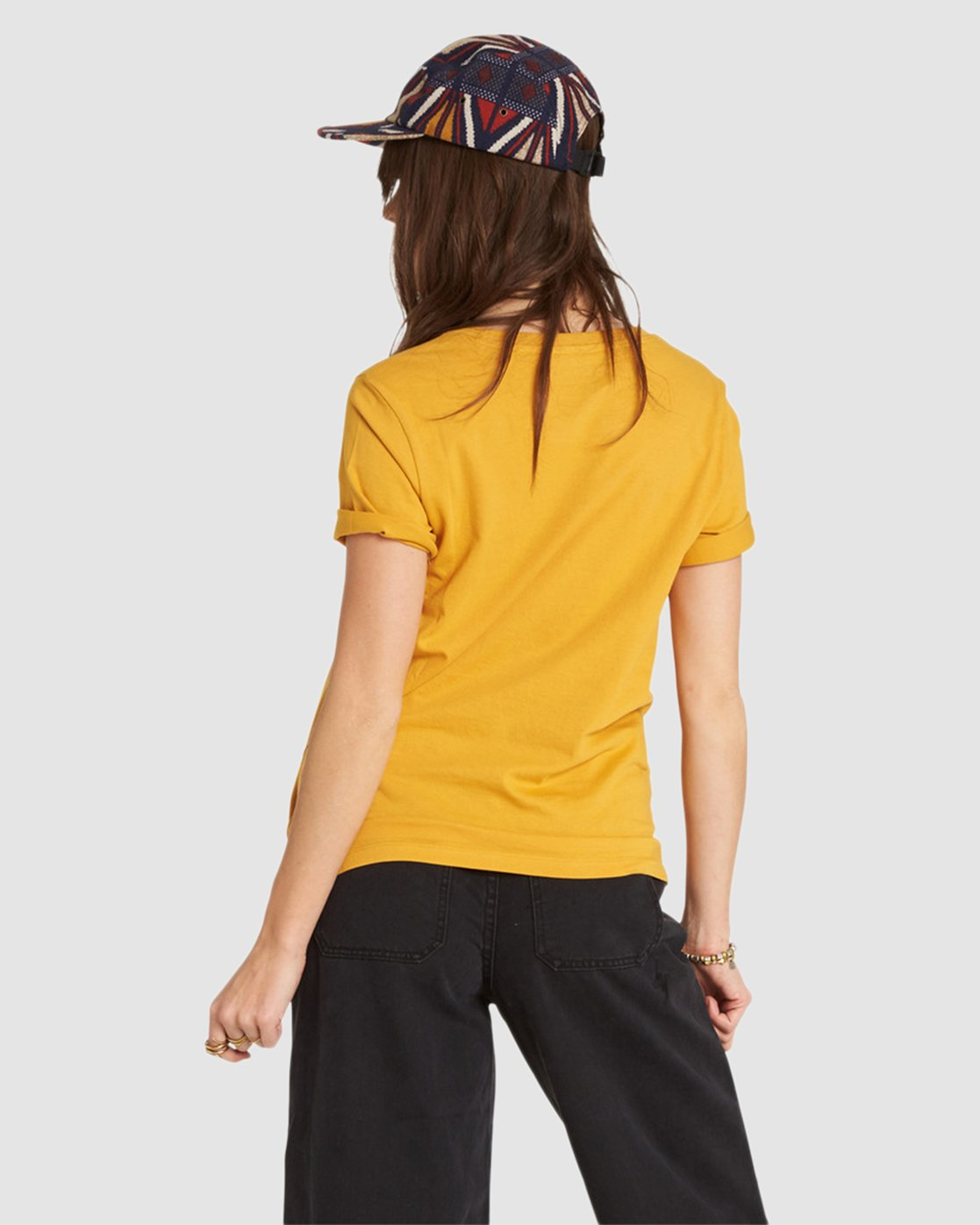 4 Let'S Roll Tee Yellow J467QELE Element