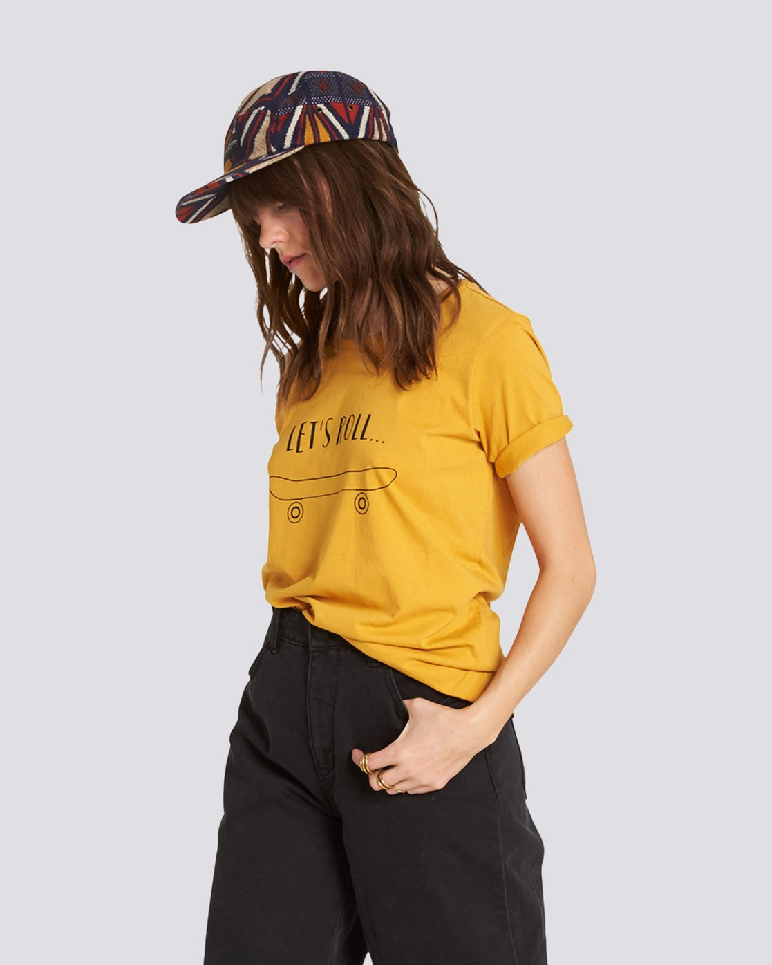 2 Let'S Roll Tee Yellow J467QELE Element