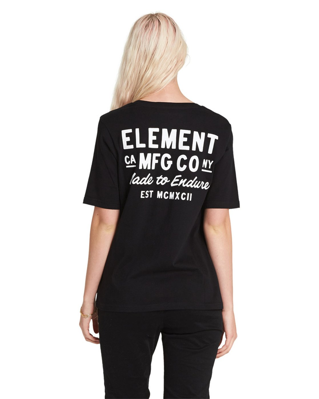 4 Made to Endure Crew Neck Tee Black J467SEME Element