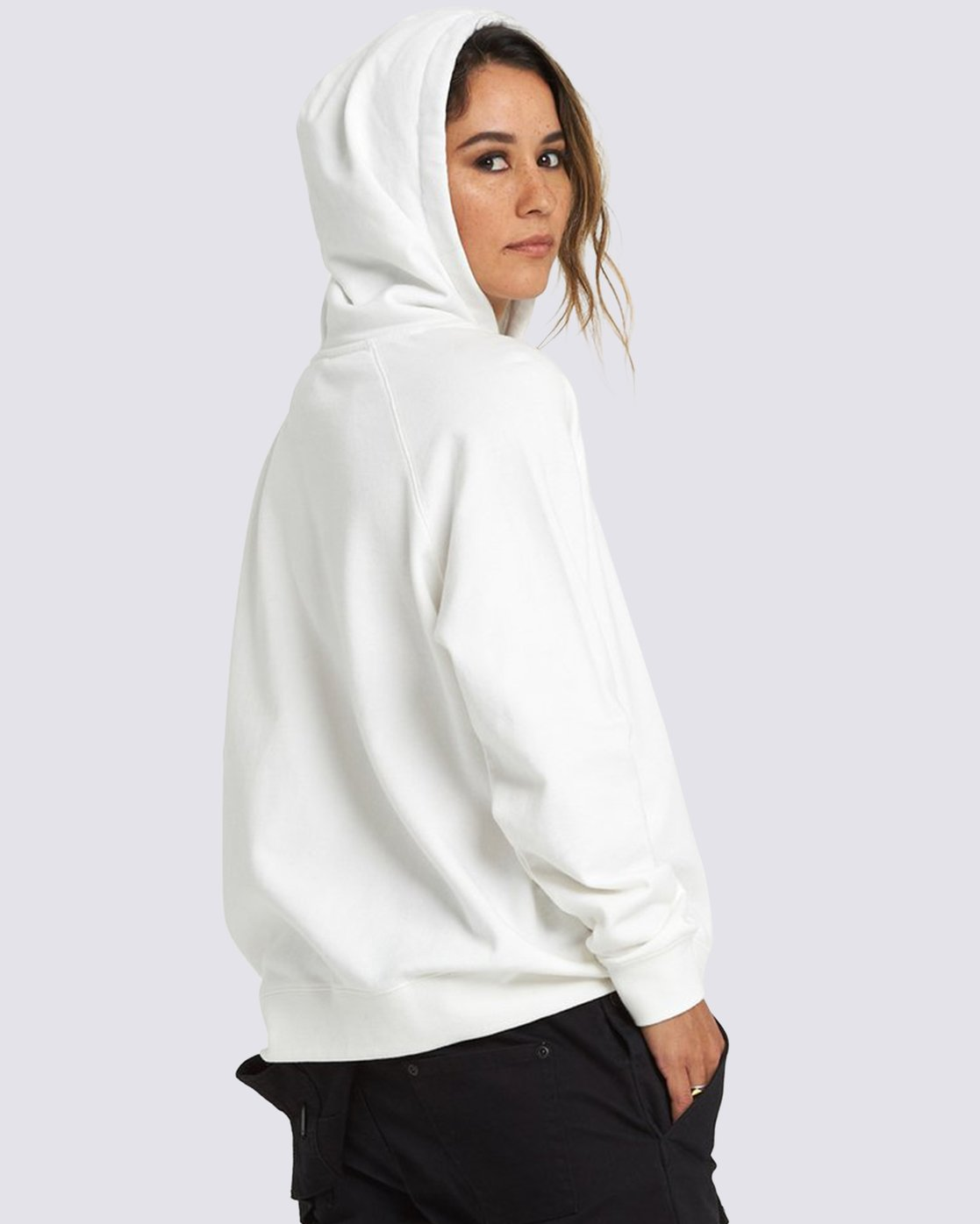 2 National Geographic Hoodie White J6041ENG Element