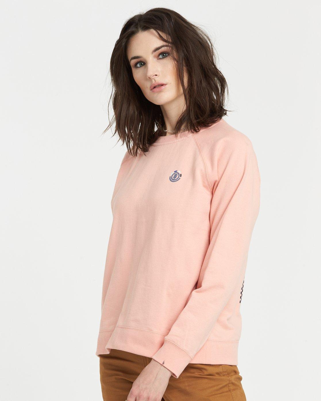 1 Branded Sweatshirt Pink J6051EBR Element