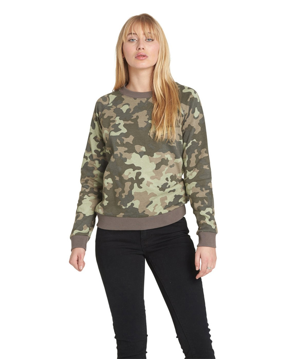 4 Get Out Crew Neck Fleece Camo J632QEGE Element