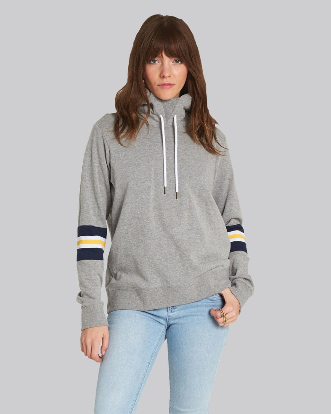 0 Amour Hoodie Grey J633SEAM Element