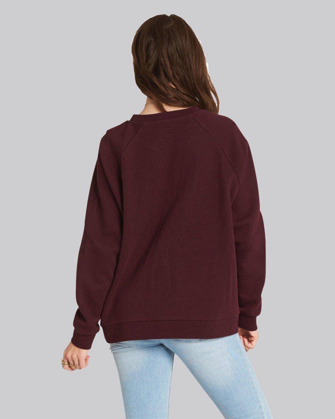 1 Daytime Sweater Red J648SEDA Element