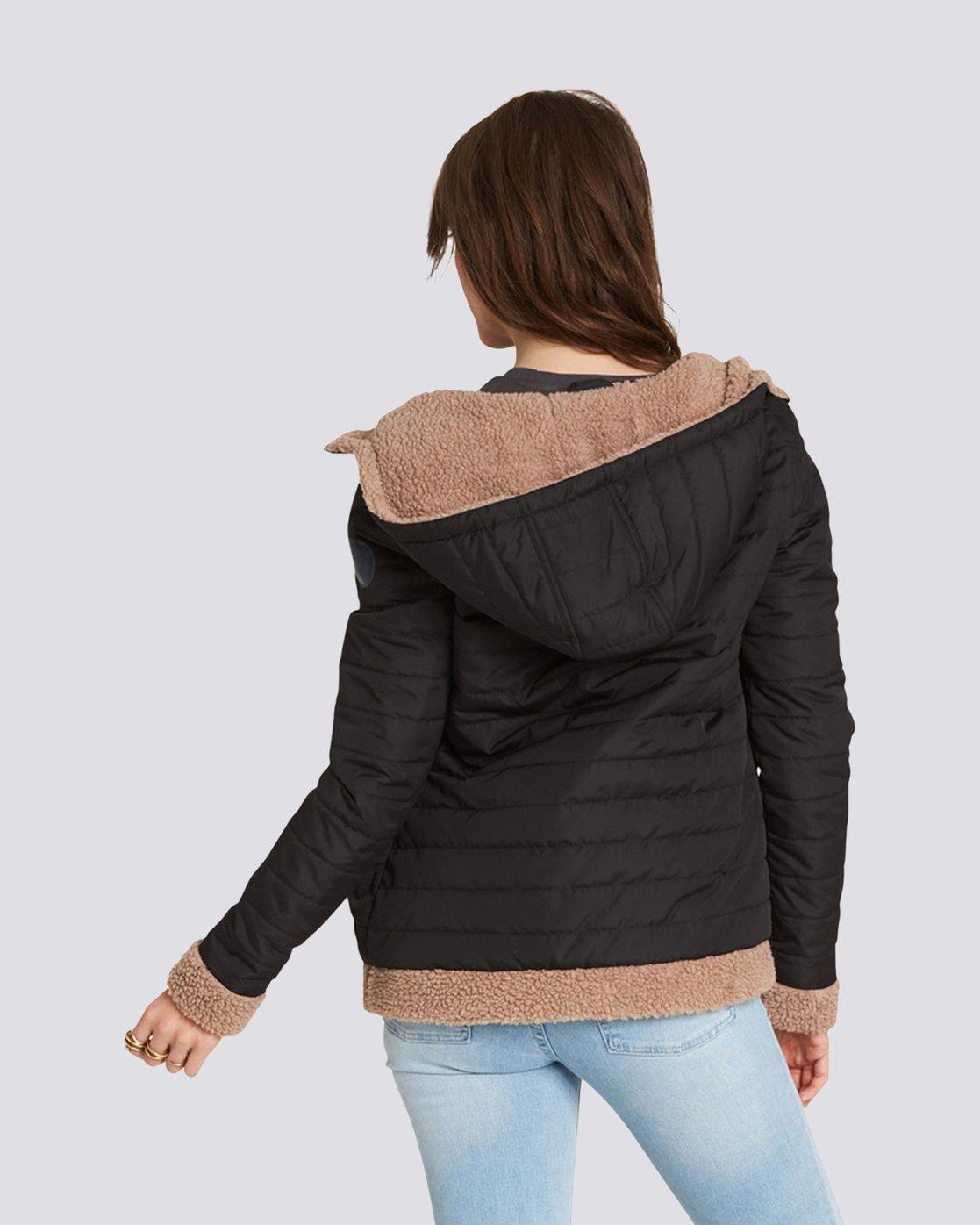 1 Sherpy Jacket Black J713SESH Element