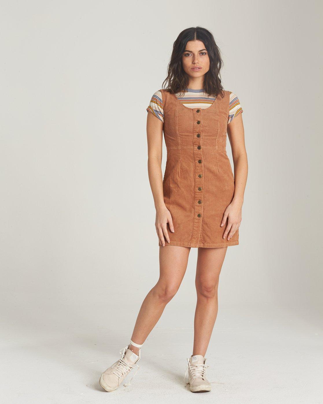 1 Mony Dress Brown JD21VEMO Element