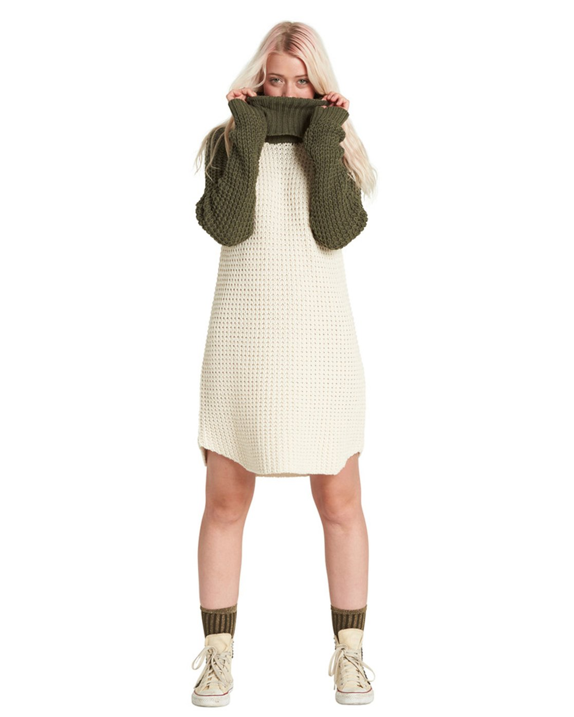9 Chance Sweater Dress Beige JD71SECH Element