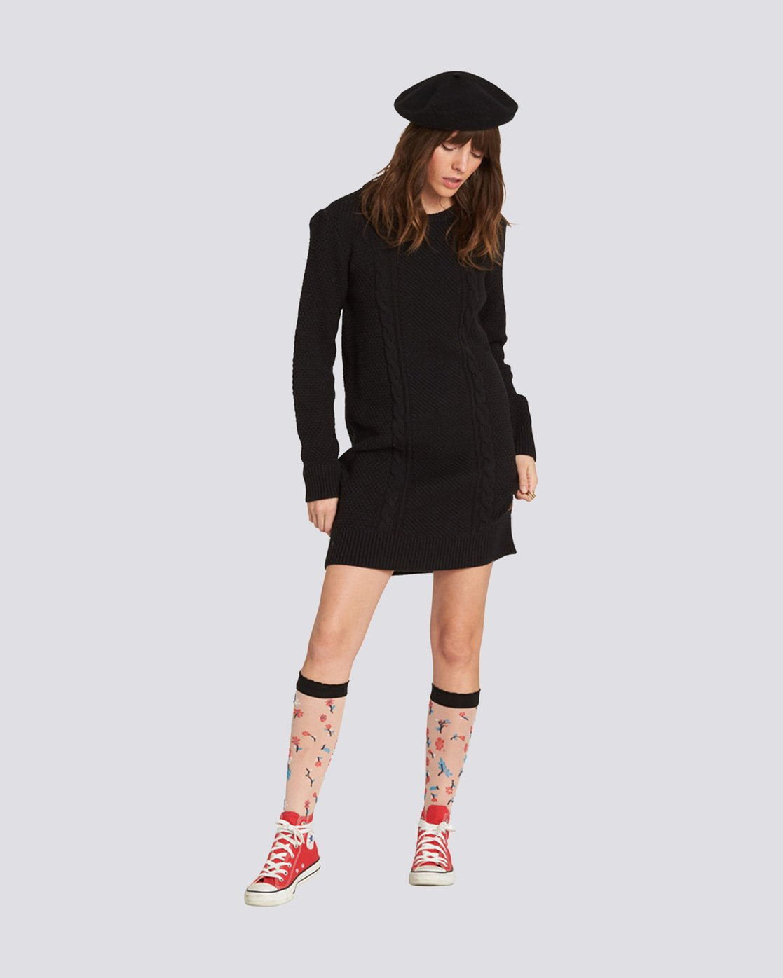 1 Tryin' Sweater Dress  JD73SETR Element