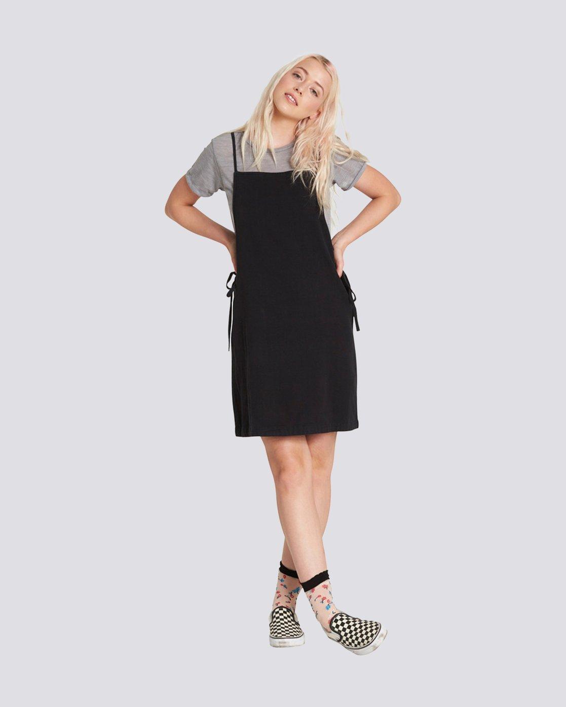 0 TYE DRESS Black JD91PETY Element