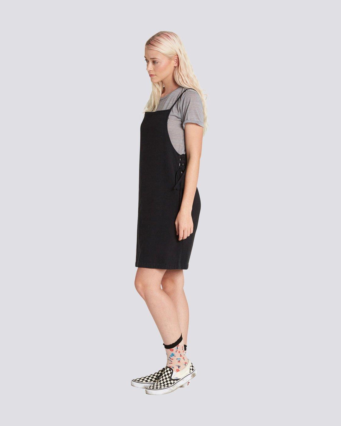 3 TYE DRESS Black JD91PETY Element