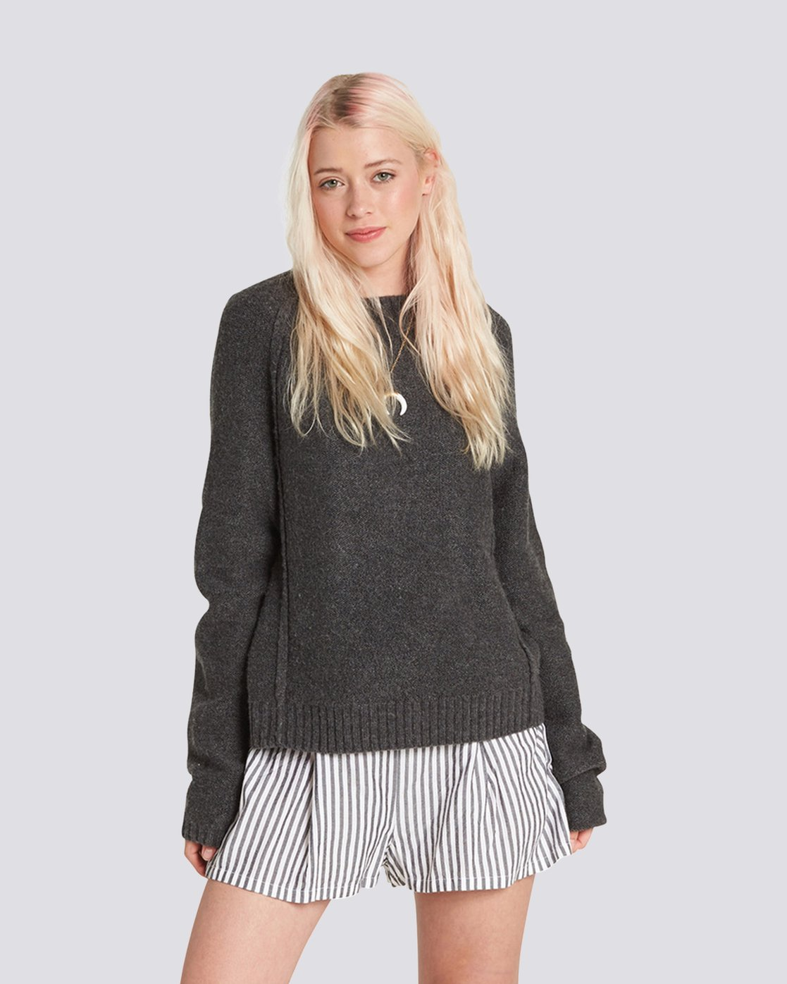 0 Comfy Sweater Grey JV26QECM Element