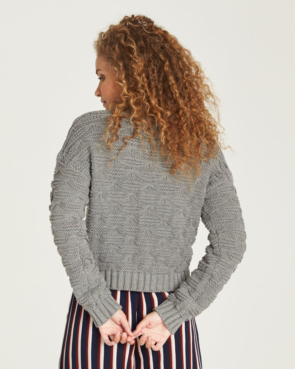 1 Elle Sweater Grey JV27TEEL Element