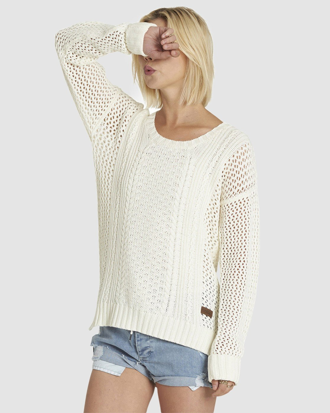 5 Voyage Knit Sweater Multicolor JV84NEVO Element