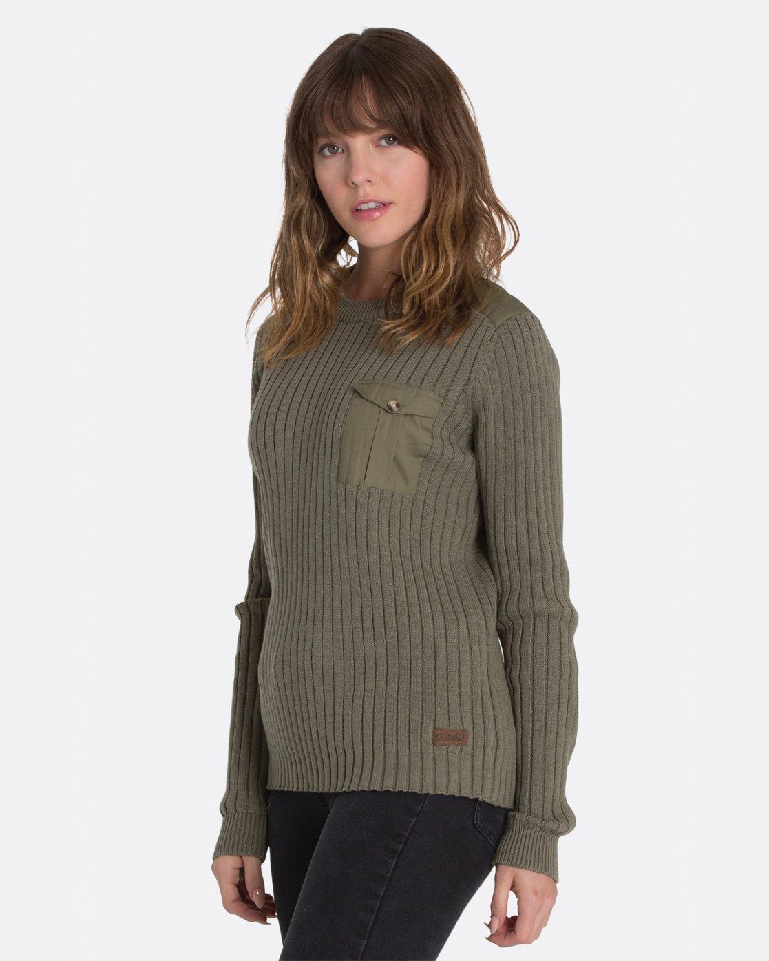 0 Colt Boyfriend Crew Sweater Green JV95MCOL Element
