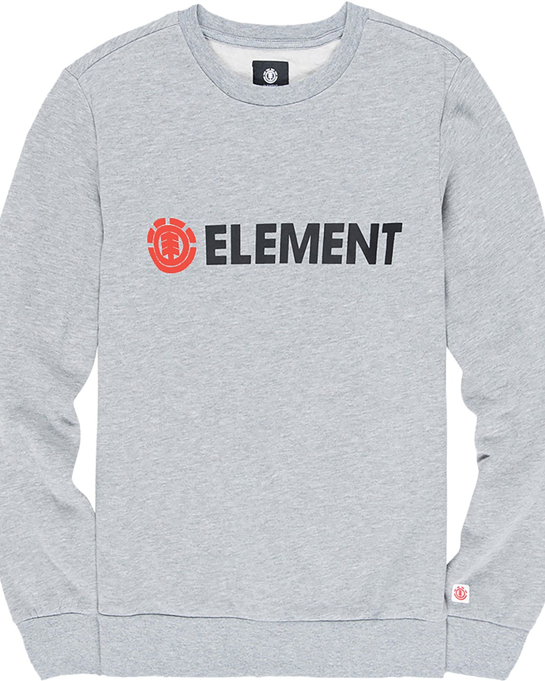 1 Blazin - Felpa da Uomo Gray L1CRA9ELF8 Element