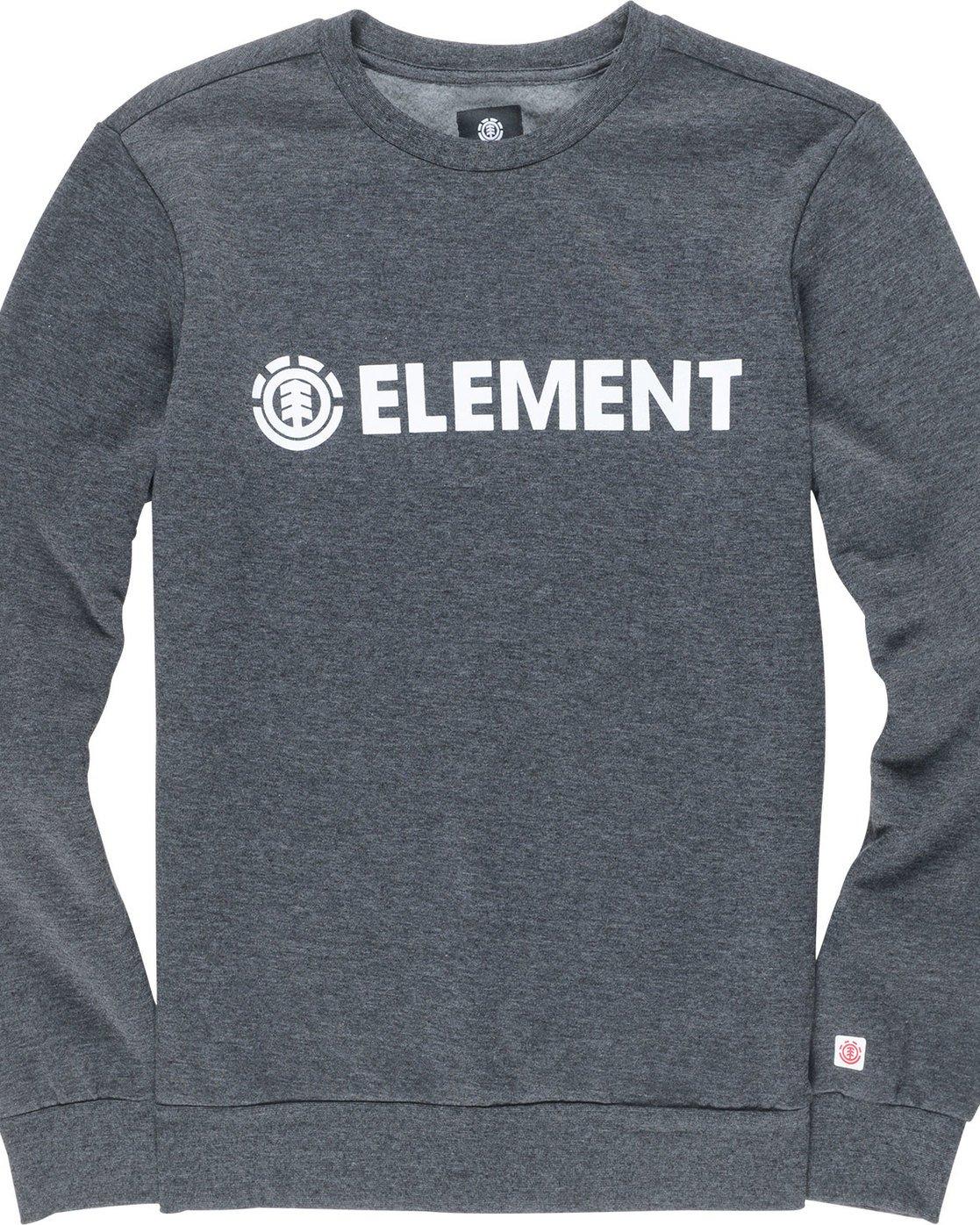 1 Blazin - Sweat pour Homme Gris L1CRA9ELF8 Element