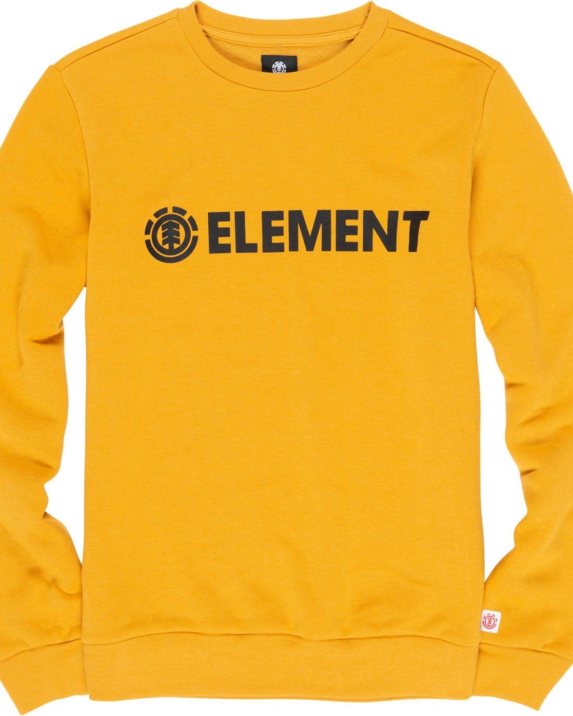 1 Blazin - Sweatshirt Yellow L1CRA9ELF8 Element