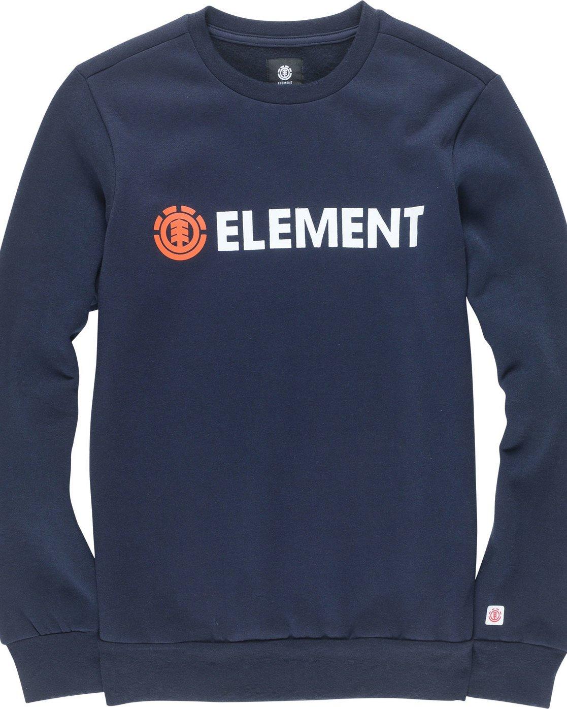 1 Blazin - Sweatshirt für Männer Blau L1CRA9ELF8 Element