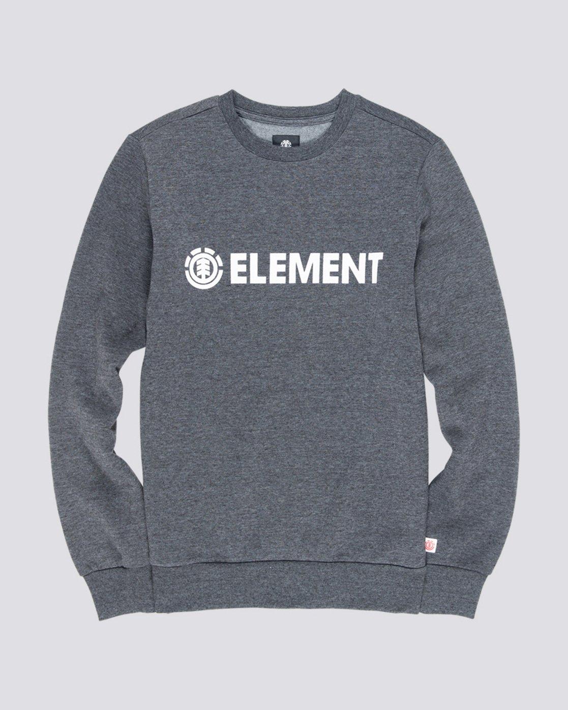 0 Blazin - Sweat pour Homme Gris L1CRA9ELF8 Element