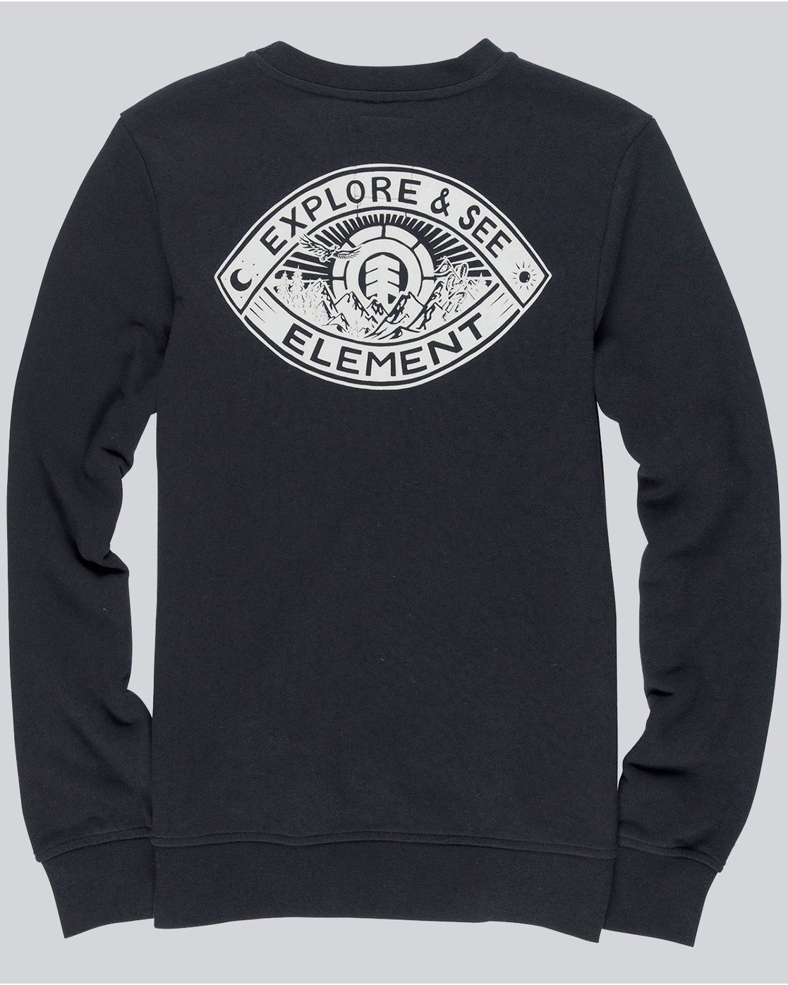 1 Eye Crew - sweat pour Homme  L1CRB8ELF8 Element