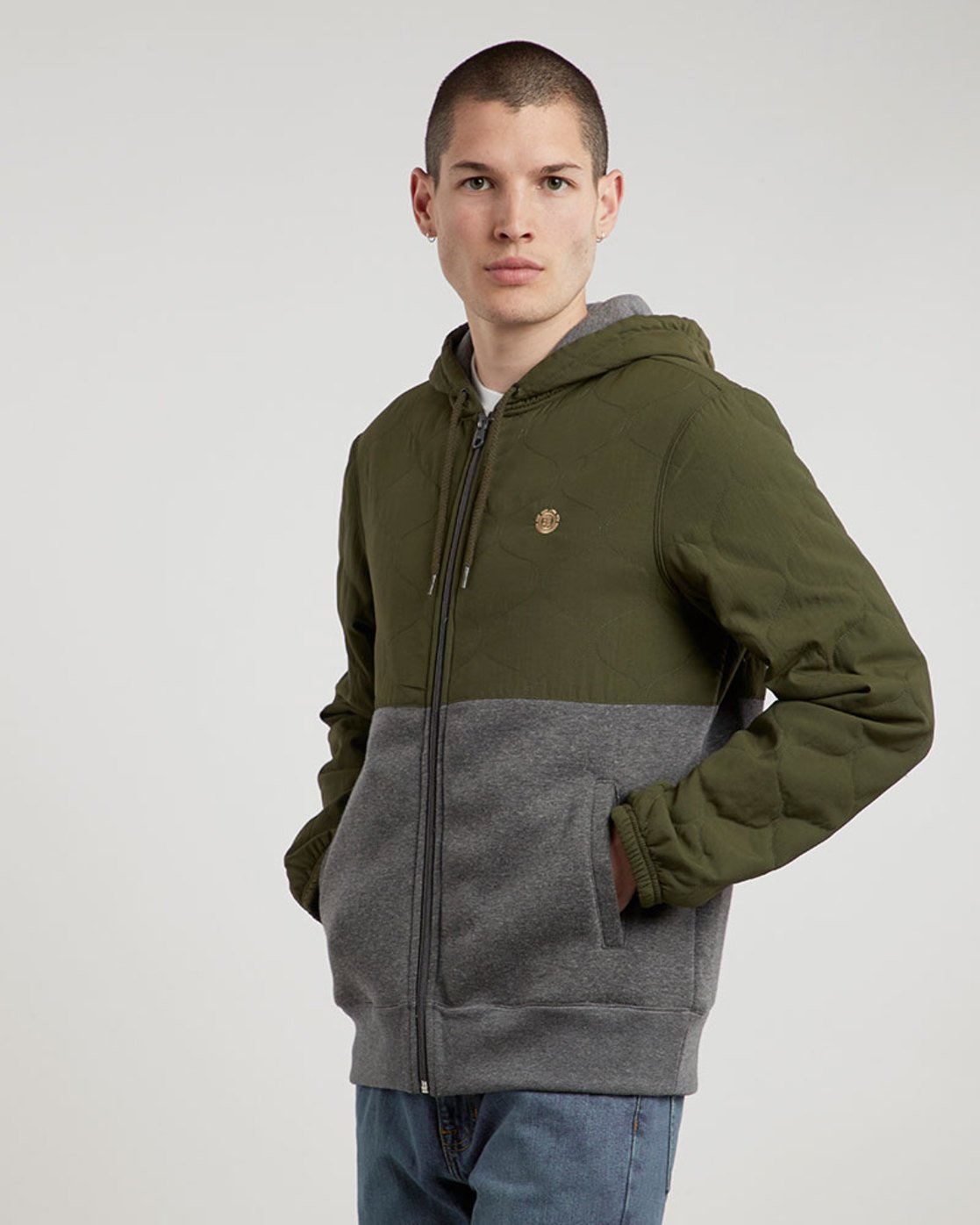 0 House Zh - Fashion Fleece for Men  L1FLA9ELF8 Element