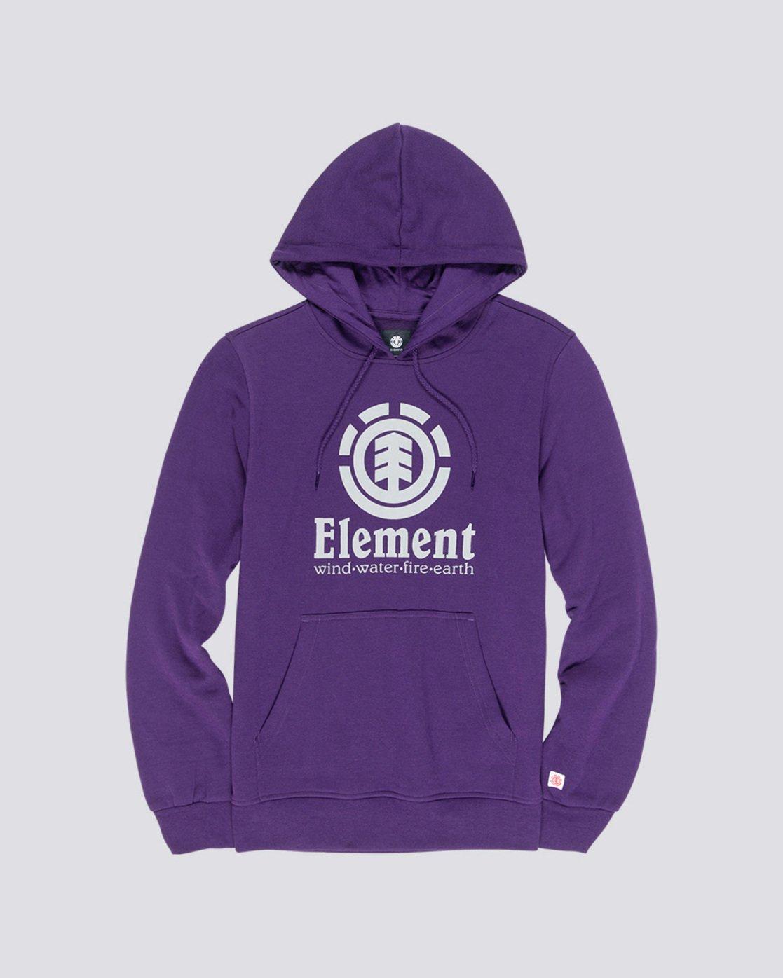 0 Vertical - Kapuzenpulli für Männer Violett L1HOB4ELF8 Element