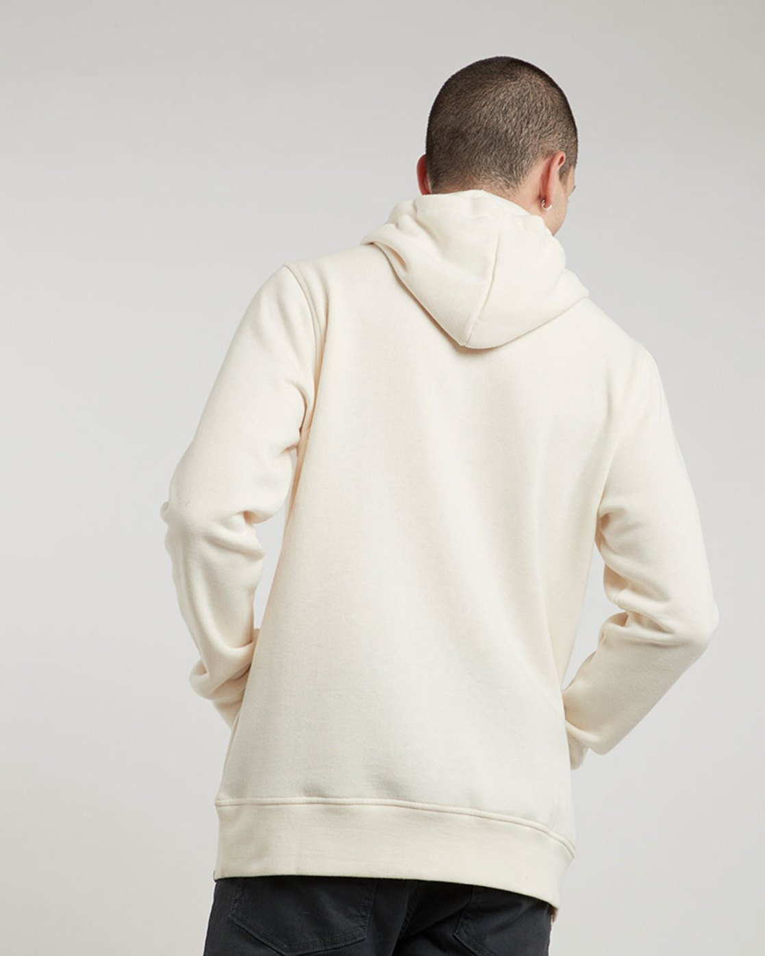 2 Bark Logo Hood - Fleece for Men  L1HOB5ELF8 Element
