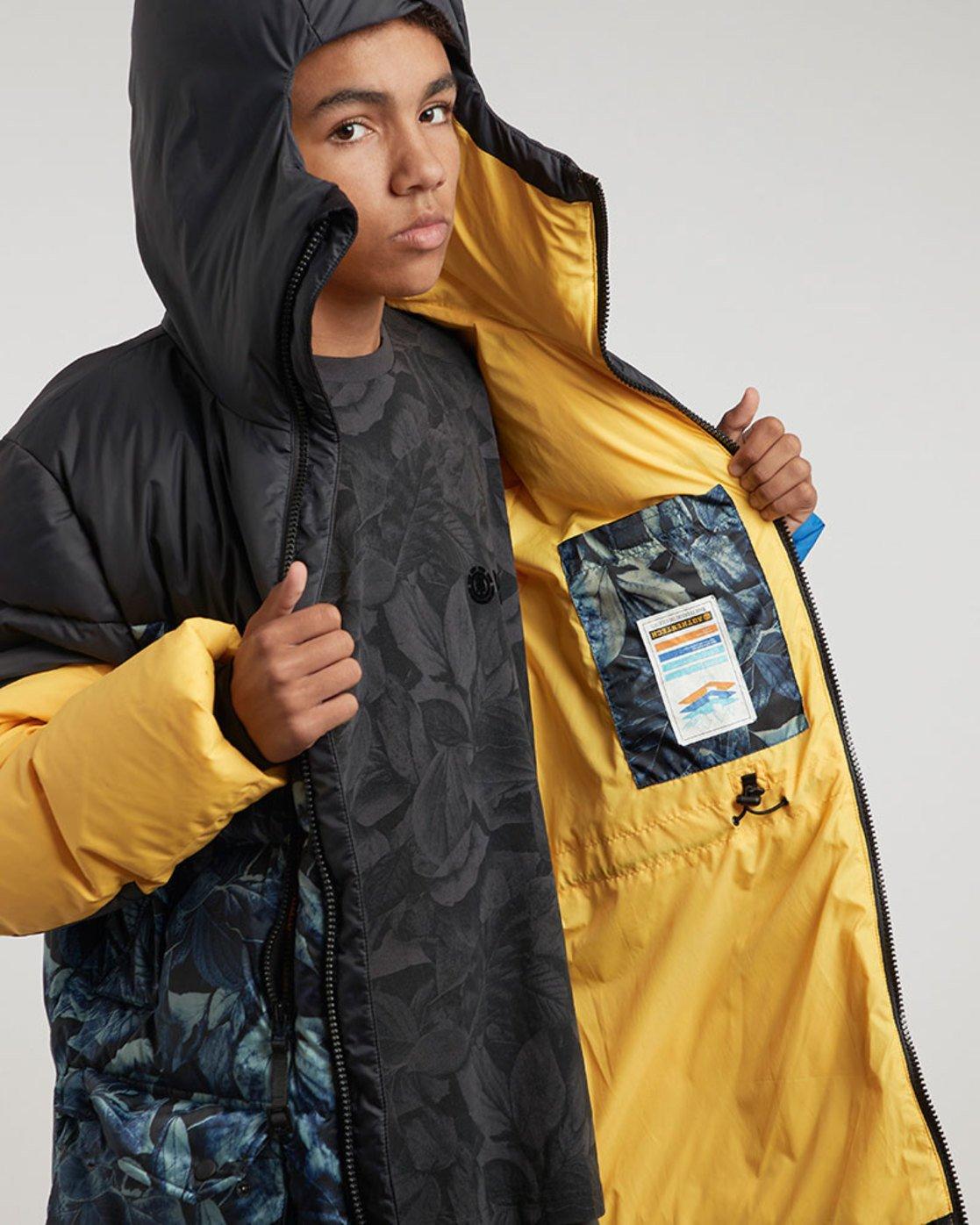 2 Griffin Sleeping Bag - vestes pour Homme Noir L1JKA3ELF8 Element