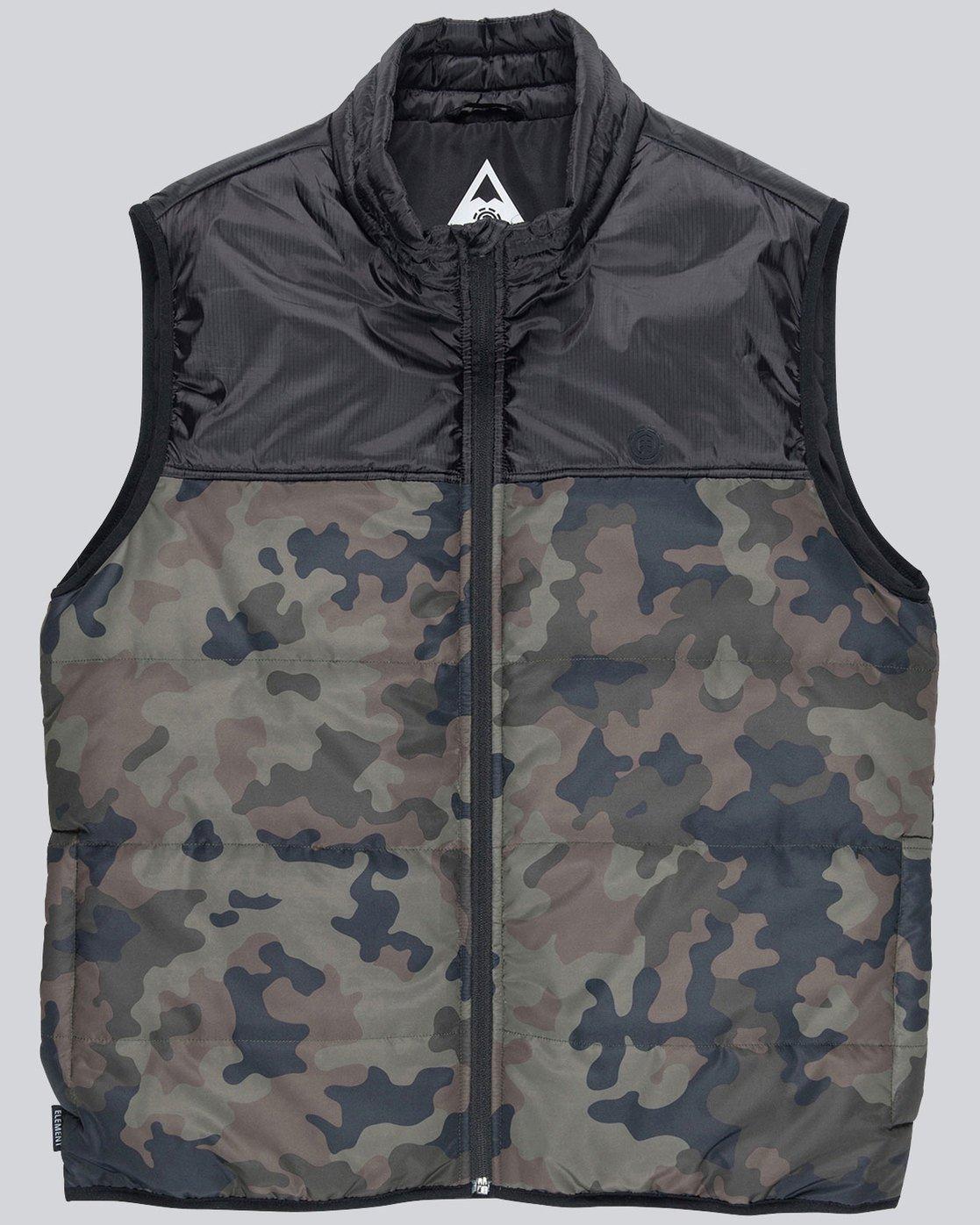 3 Puff Vest Tw - vestes pour Homme Camo L1JKB1ELF8 Element