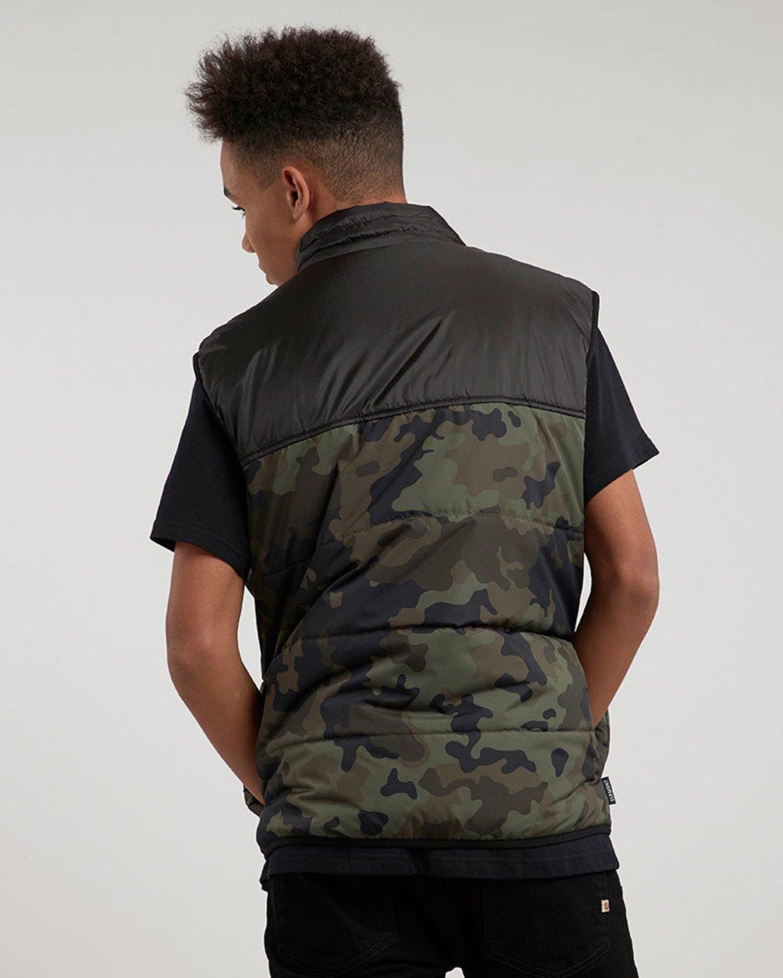 2 Puff Vest Tw - vestes pour Homme Camo L1JKB1ELF8 Element