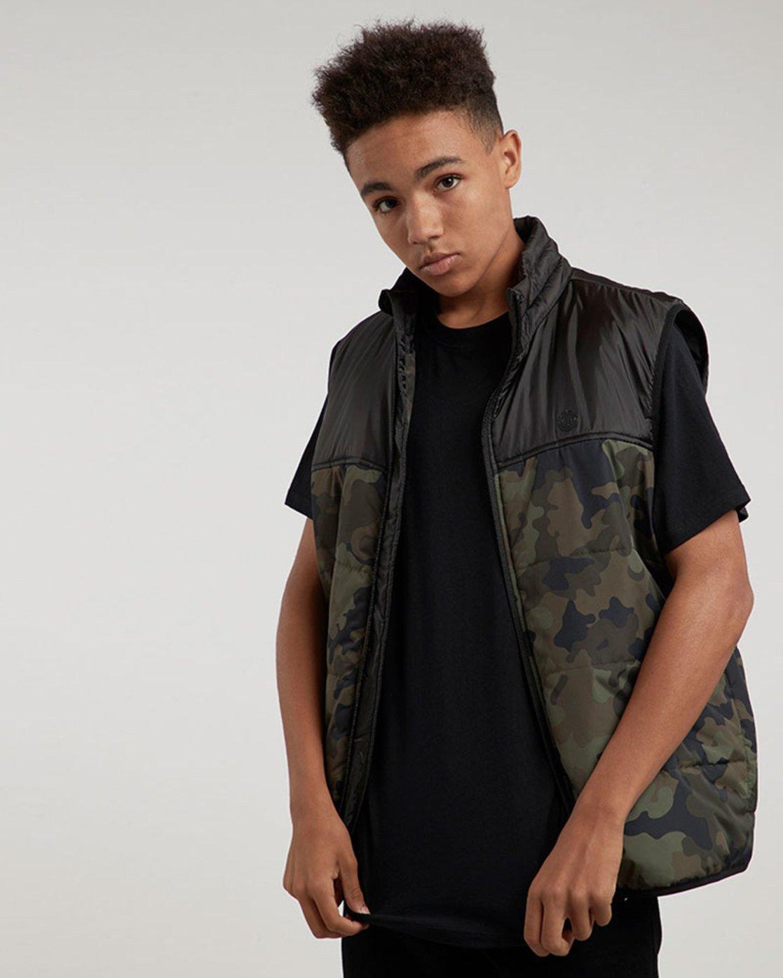 1 Puff Vest Tw - vestes pour Homme Camo L1JKB1ELF8 Element