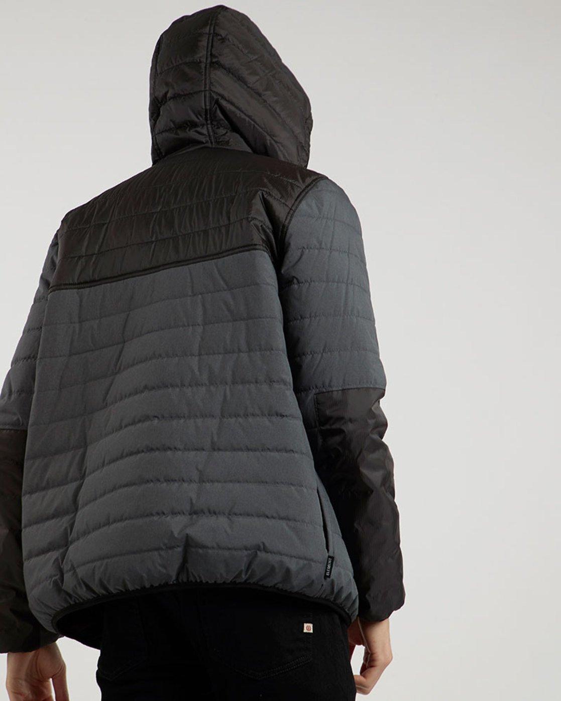 2 Alder Puff Tw - giacca da Uomo Black L1JKB2ELF8 Element