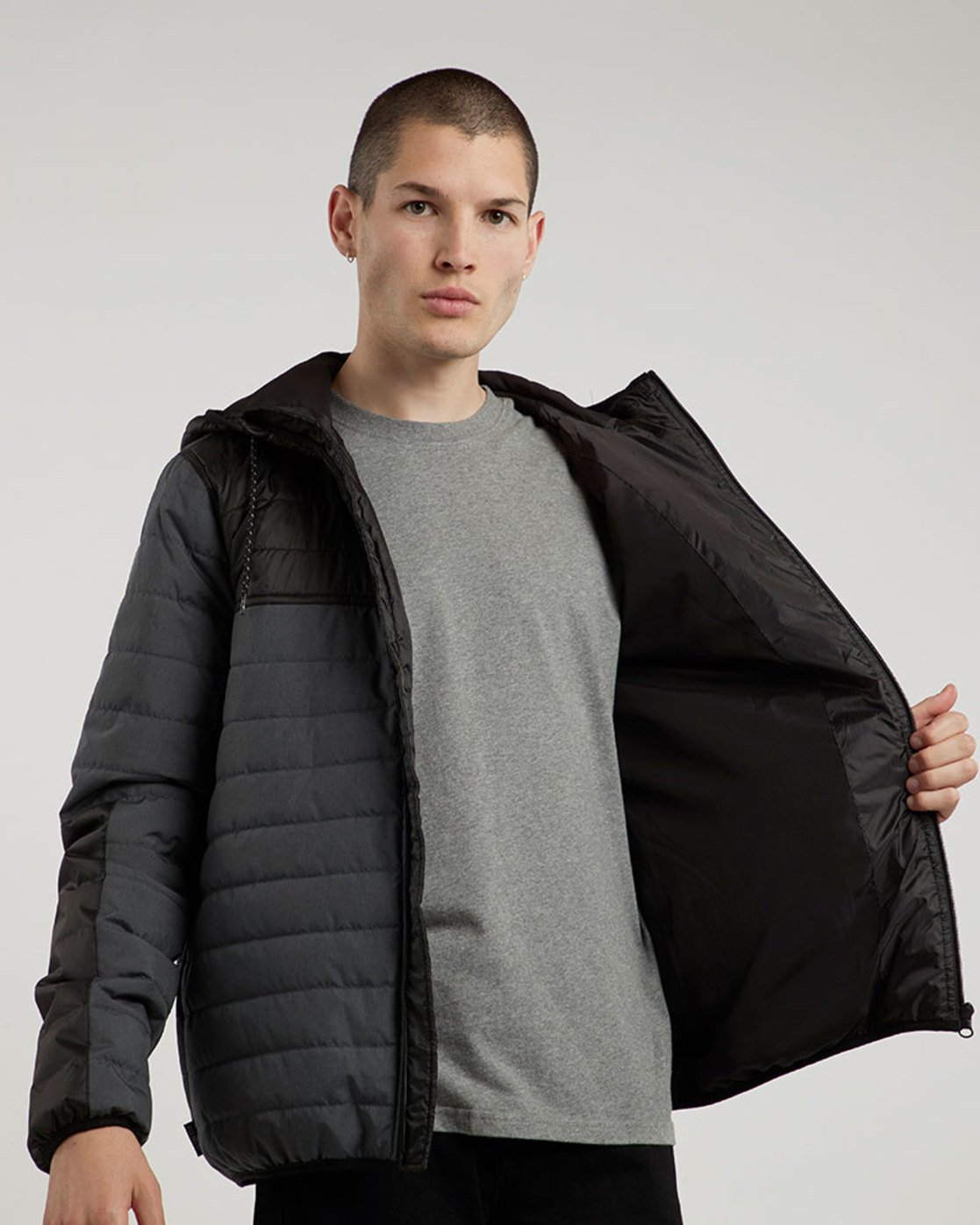 0 Alder Puff Tw - Jacket for Men Black L1JKB2ELF8 Element