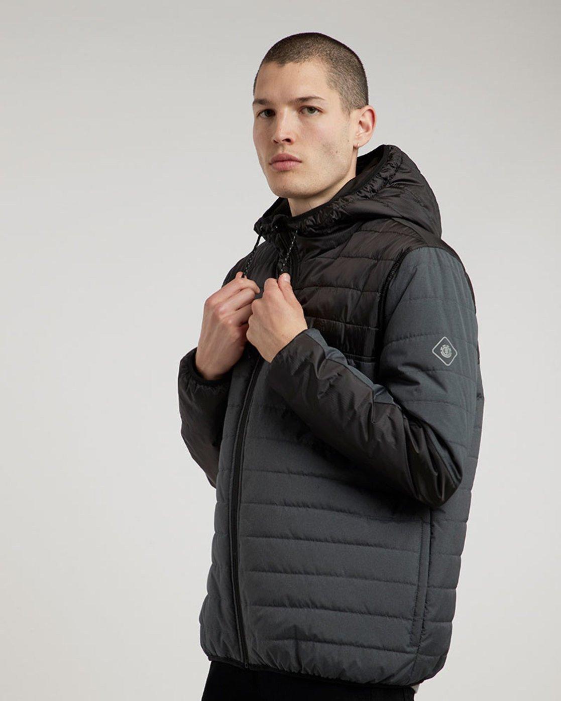 1 Alder Puff Tw - Jacket for Men Black L1JKB2ELF8 Element