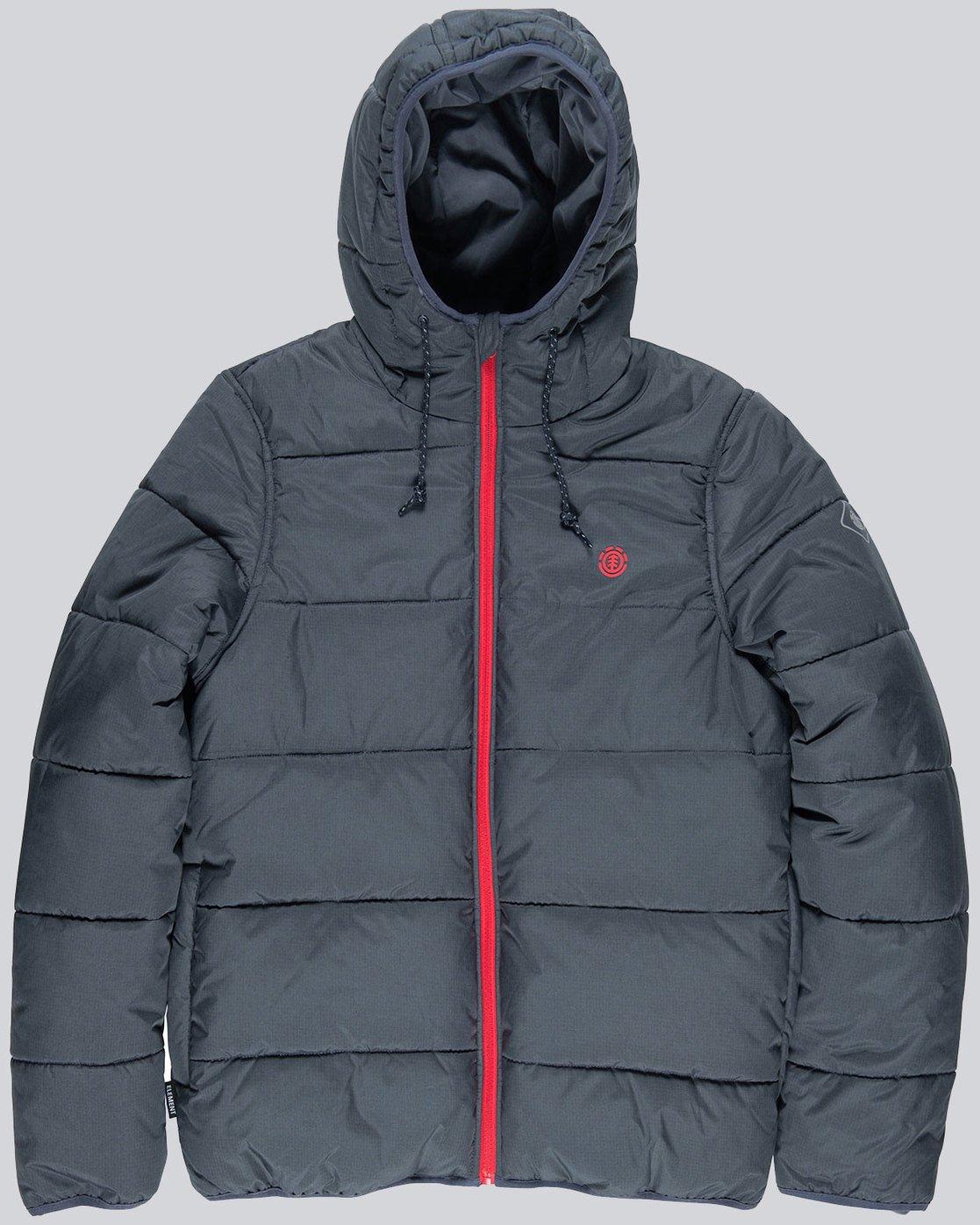 3 Alder Heavy Puff Tw - Jacken für Männer Blau L1JKB4ELF8 Element