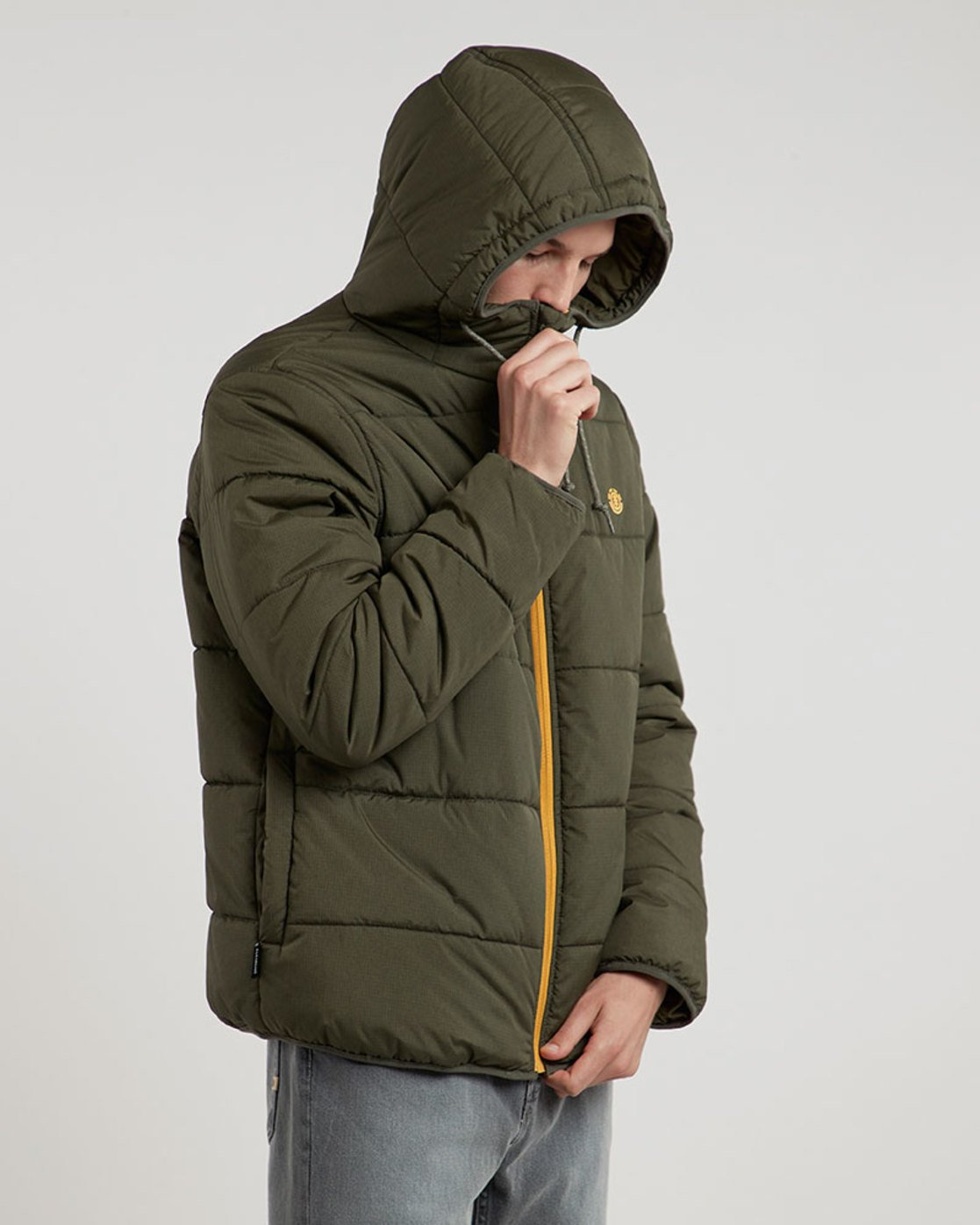 0 Alder Heavy Puff Tw - Jacket for Men Green L1JKB4ELF8 Element