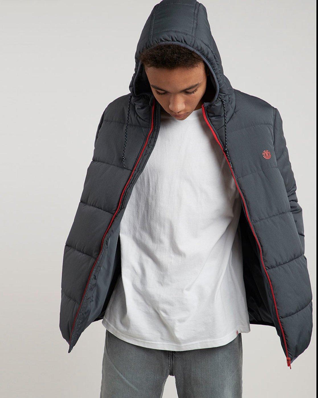 1 Alder Heavy Puff Tw - Jacken für Männer Blau L1JKB4ELF8 Element