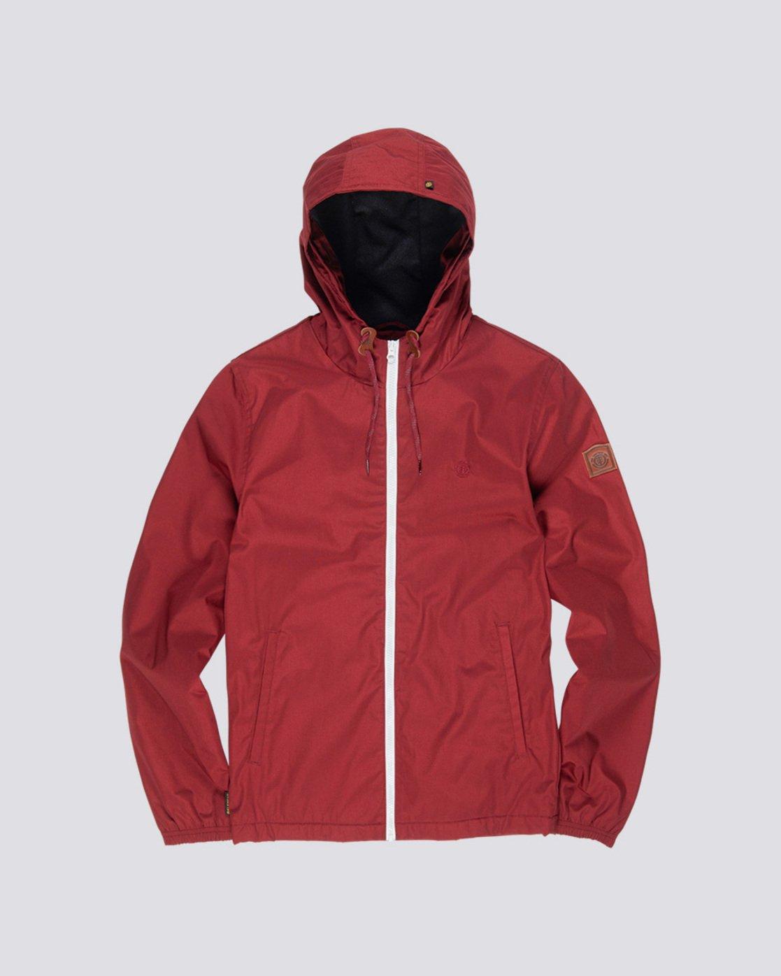 0 Alder - Hooded Jacket Red L1JKB5ELF8 Element