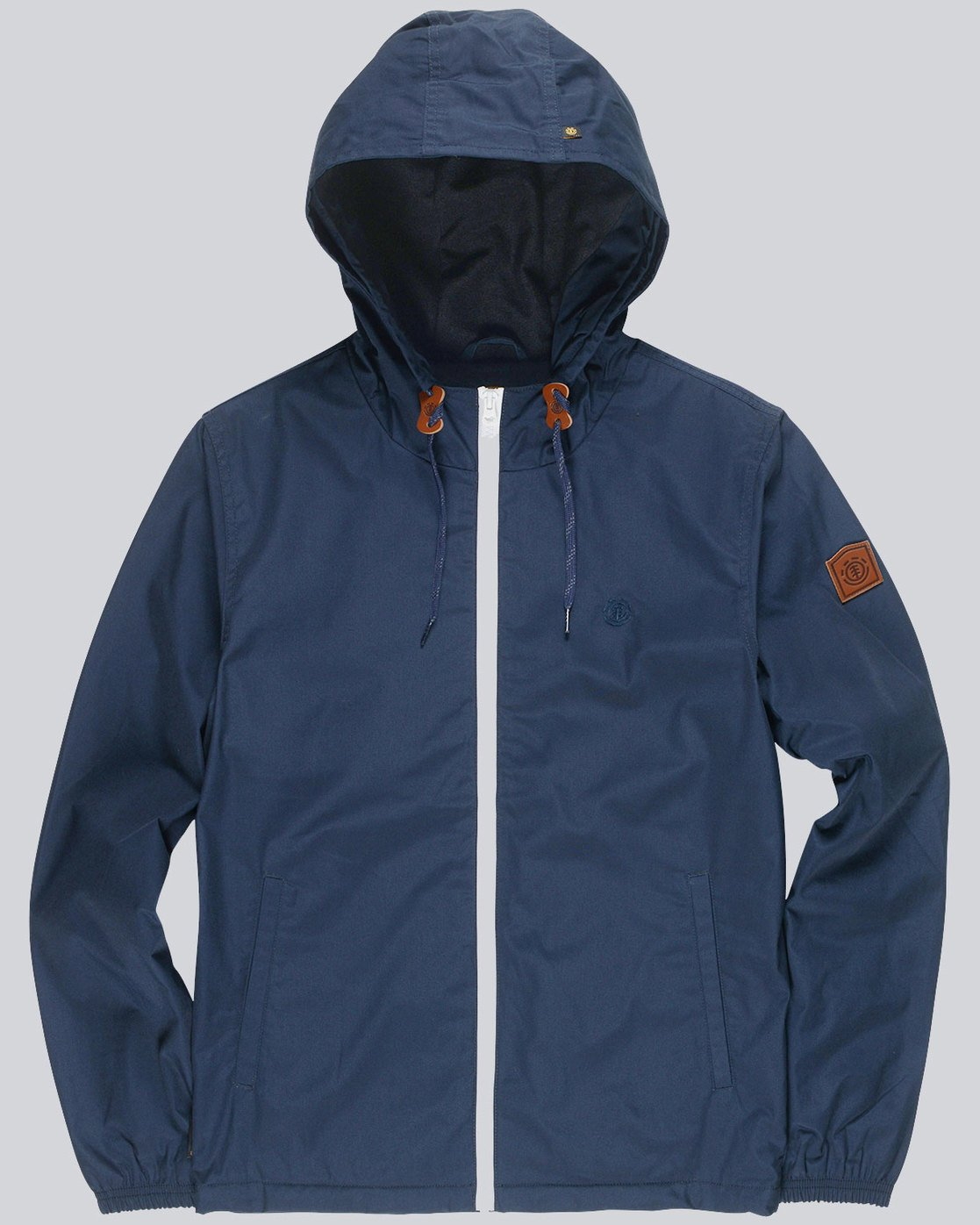 4 Alder - Hooded Jacket Blue L1JKB5ELF8 Element