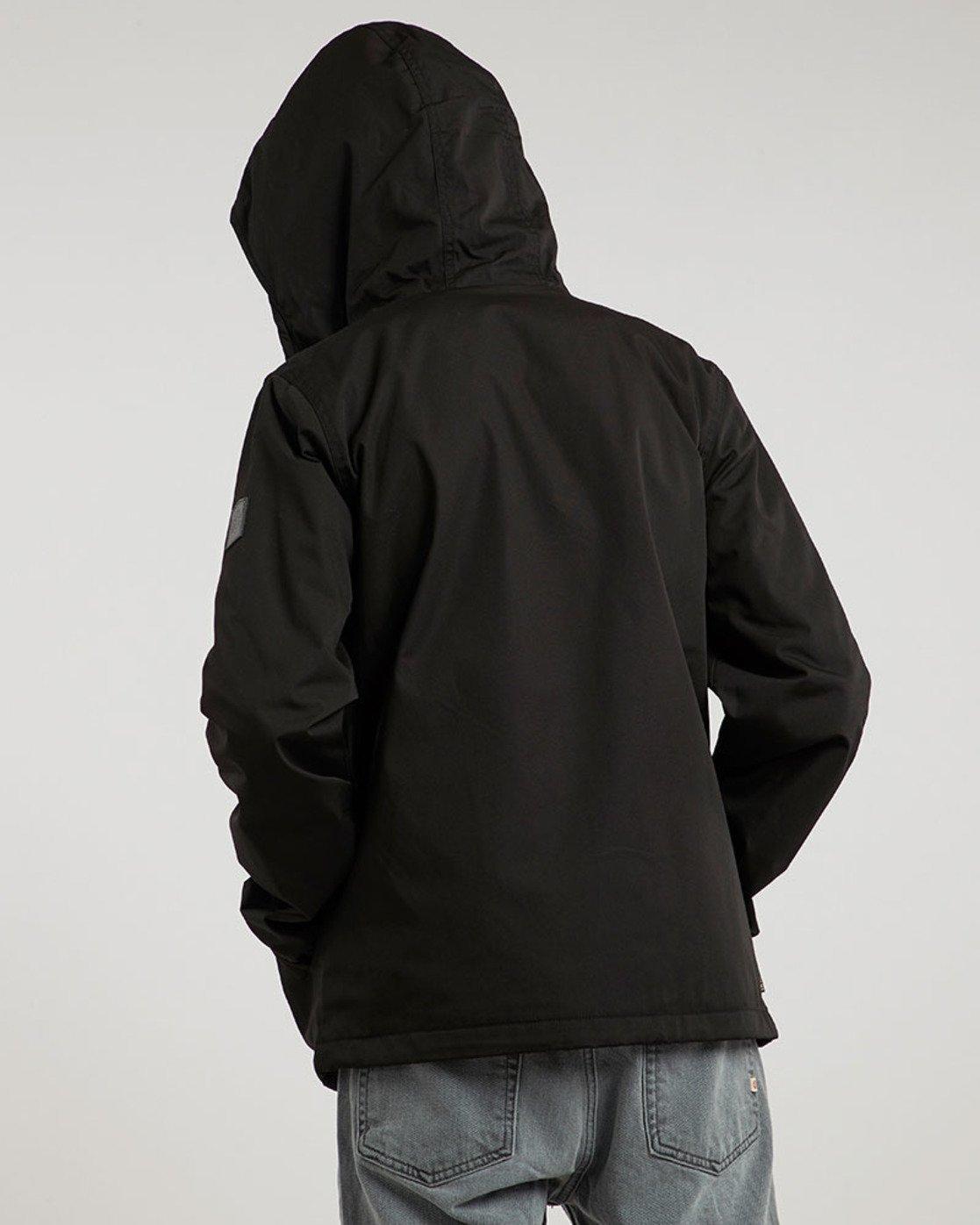 1 Alder - Hooded Jacket Black L1JKB5ELF8 Element