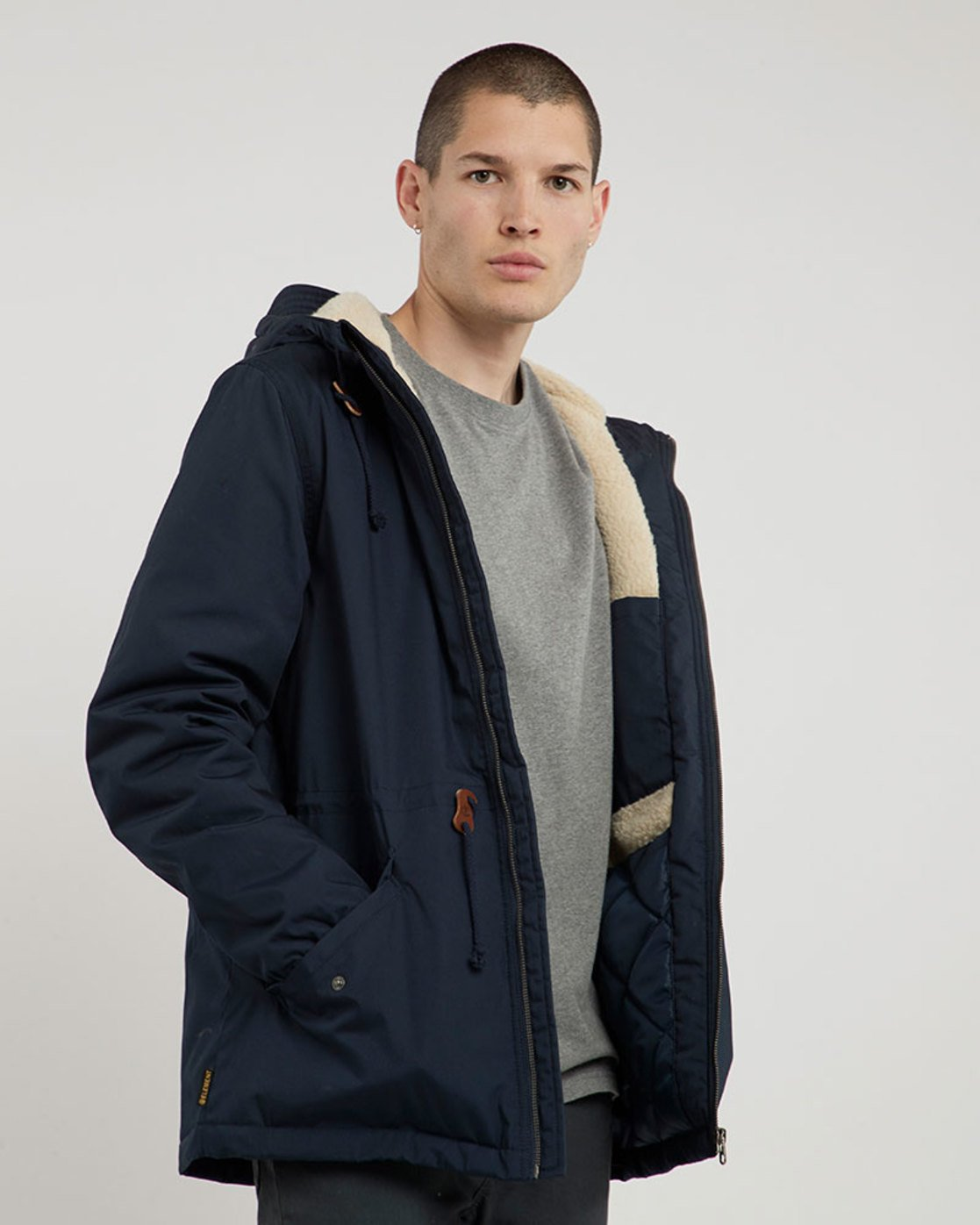 2 Stark - Jacke für Männer Blau L1JKB8ELF8 Element