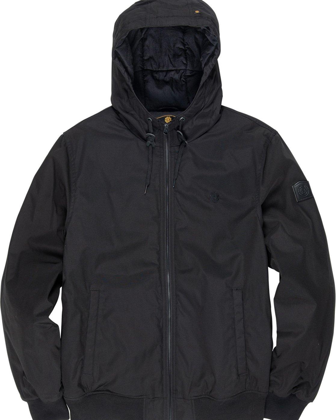 1 Dulcey - Hooded Jacket Black L1JKC2ELF8 Element