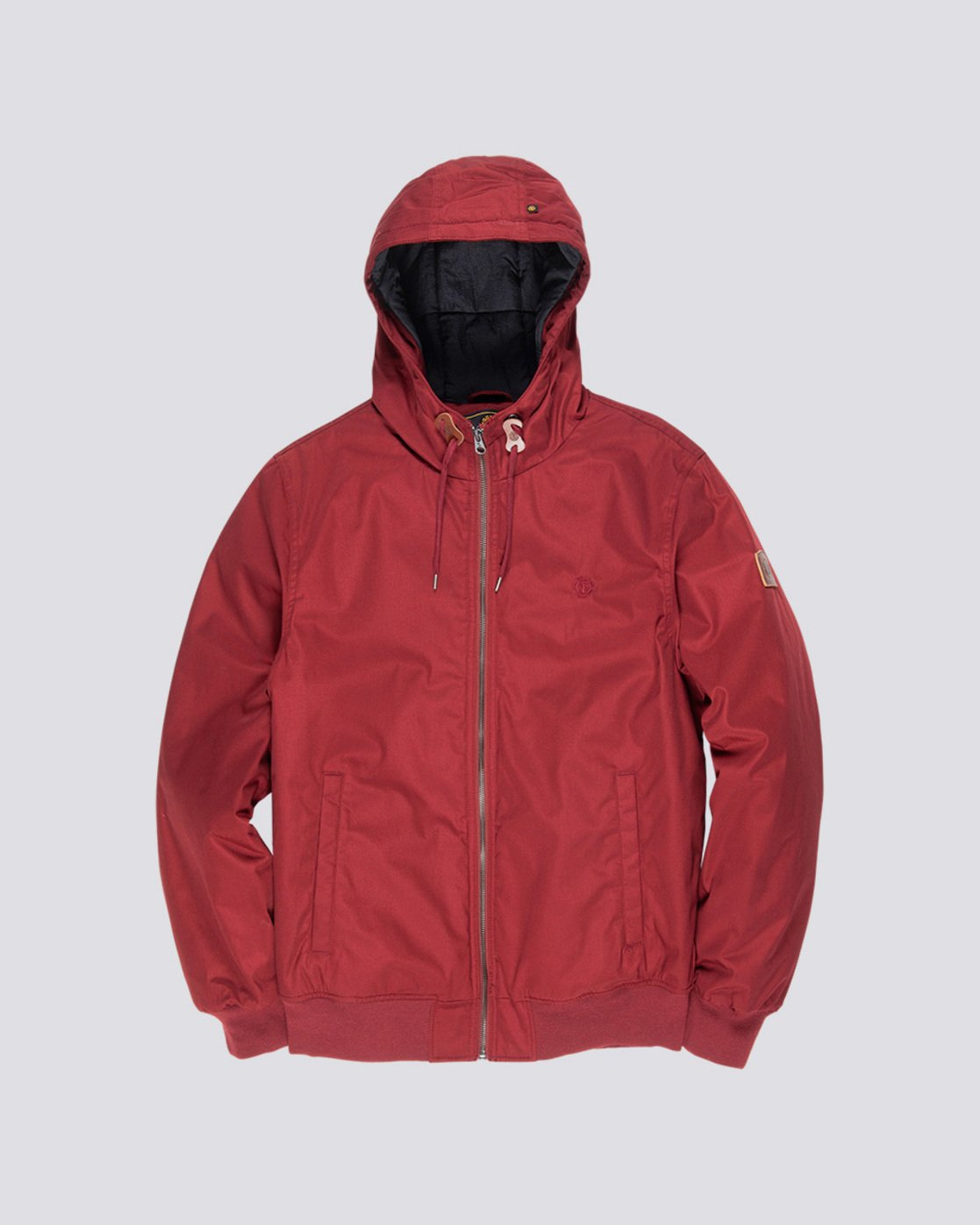 0 Dulcey - Hooded Jacket Red L1JKC2ELF8 Element